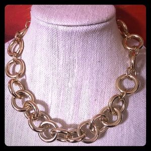 NEW J Crew Chunky Chain Gold Necklace